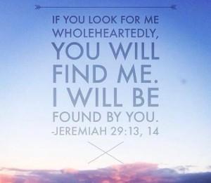 Jeremiah29.13-14