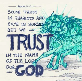 Image result for some trust in chariots